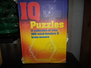 IQ PUZZLES  COMPILED BY JOE CAMERON