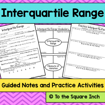 Interquartile Range Notes