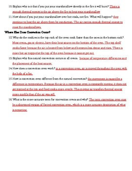 IQWST ES2 Lesson 3 Reading Guide -  Why Learn about Convection