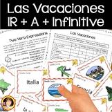 IR + A + Infinitive   IR de Vacaciones
