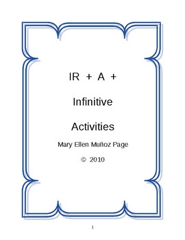 IR + A + infinitive or place practice (revised)