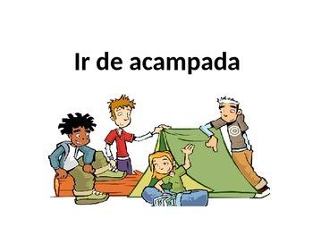 IR DE ACAMPADA