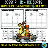 IR - IRE Sorts   Cut and Paste Worksheets