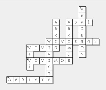 IR Preterit Puzzles for Students of Spanish