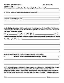 IR Seedfolks by Paul Fleischman - Ana Worksheet