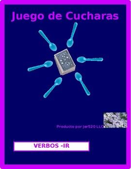 IR Spanish verbs present tense Spoons game / Uno game