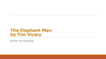 IR The Elephant Man by Tim Vicary Guided Reading Questions
