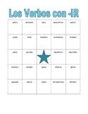 IR Verbs in Spanish Verbos IR Present tense Bingo