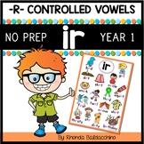 IR Worksheets and Activities NO PREP