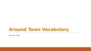IR around town vocabulary ppt