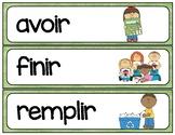 French IR verb wordwall / flashcards