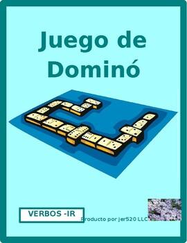 IR verbs in Spanish Dominoes