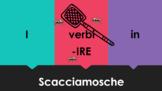 IRE Verbs in Italian Scacciamosche Flyswatter Game Google Slides