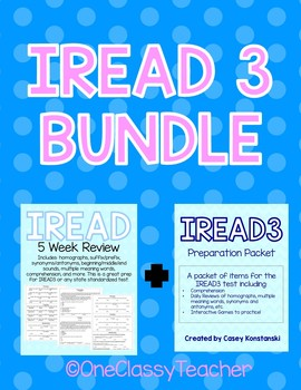 IREAD 3 BIG BUNDLE