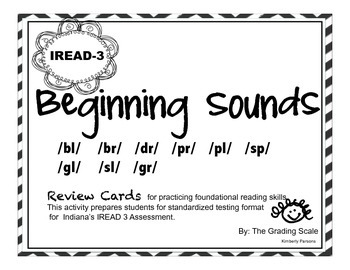IREAD-3 Beginning Sounds Set 2