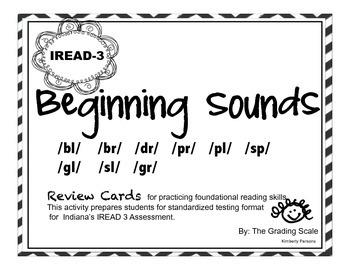IREAD-3 Beginning Sounds Set 2