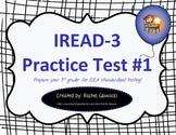IREAD-3 Practice Test #1