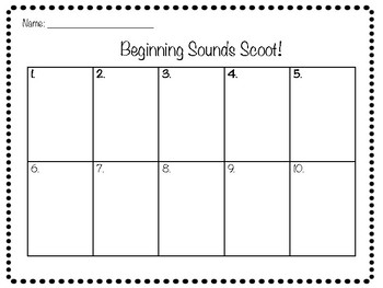 IREAD-3 Task Cards & Scoot Activity 80 Cards Total!