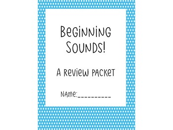 IREAD Beginning Sounds Sample