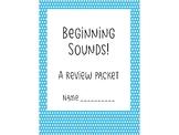 IREAD Beginning Sounds Sample