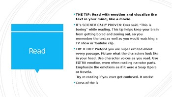 IREAD Test-Taking Tips for Close Reading & Question Analysis