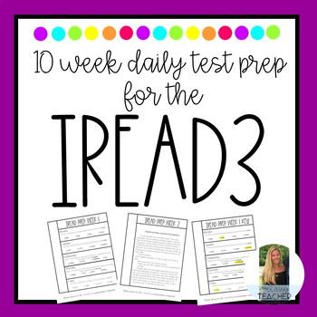 IREAD3 10 Week Daily Prep Practice