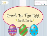IRLA 1-3Y Crack 'In The Egg Easter Activity/ CVC words