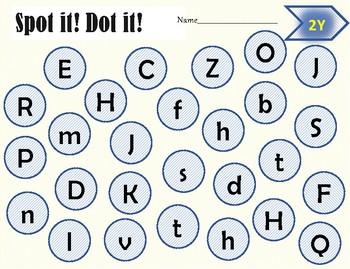 IRLA 1-3Y Letter Identification/Initial Consonant BINGO*