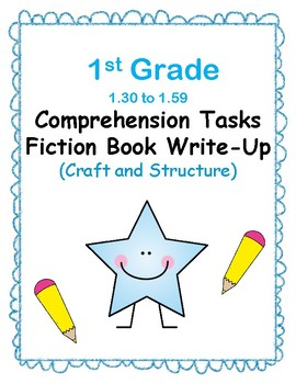 1st Grade 1.30-1.59 Comp. Tasks-Craft & Structure Aligned to Reading Co IRLA
