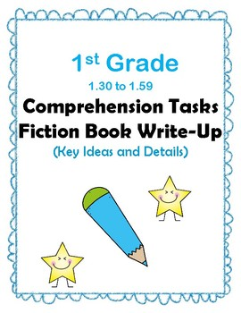 1st Gr 1.3-1.59 Comp Tasks Key Ideas&Details Aligned to American Reading Co IRLA
