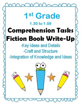 1st Grade 1.30-1.59 Comp Tasks-ALL 3 Aligned to American Reading Co IRLA