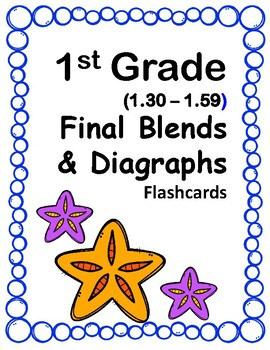 1st Gr 1.30-1.59 Final Blends & Diagraphs (Aligned to American Reading Co IRLA)