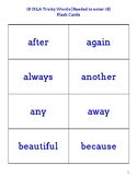 IRLA 1B Tricky Words Flash Cards