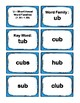 1st Grade 1.30-1.59 U-Word Families Cards (Aligned to Amer