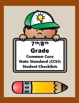 7th/8th Grade CCSS Student Checklists (Correlated to American Reading Co IRLA)