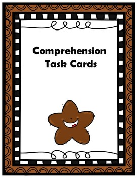8th Grade Comprehension Task Cards Aligned to American Rea