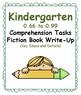 Kindergarten 0.66-0.99 Comp Tasks-ALL 3 (Aligned to American Reading Co IRLA)