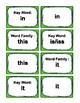 IRLA: 1G - I, O, & U - Word Families Flash Cards