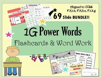 Word Work & Activities **BUNDLE 2**
