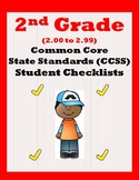 2nd Grade 2.00-2.99 CCSS Student Checklists Aligned to Ame