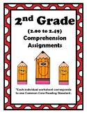 2nd Gr. 2.00-2.49 Comprehension Assignments Alligned to American Reading Co IRLA