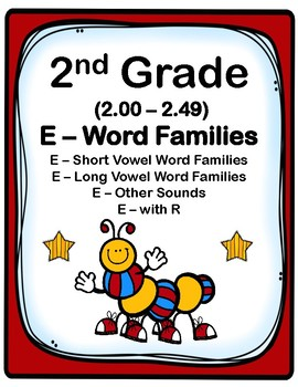 2nd Grade 2.00-2.49 E-Word Families Aligned to American Re
