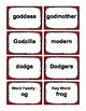 2nd Grade 2.00-2.49 O-Word Families Cards (Aligned to American Reading Co IRLA)