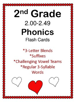 2nd Grade 2.00-2.49 Phonics Practice Cards Aligned to American Reading Co IRLA