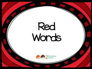 IRLA 1R Tricky Word Flashcards