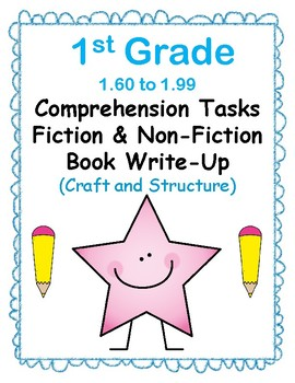 1st Gr 1.6-1.9 Comp Tasks-Craft & Structure Aligned to American Reading Co IRLA