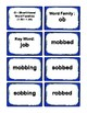 1st Grade 1.60-1.99 O-Word Families Cards (Aligned to American Reading Co IRLA)