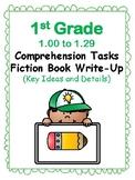 1st Gr 1.0-1.29 Comp Tasks Key Ideas&Details Aligned to American Reading Co IRLA