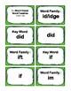 IRLA: 2G - I, O, & U-Word Families Flash Cards
