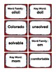 2nd Grade 2.50-2.99 O-Word Families Cards (Aligned to American Reading Co IRLA)